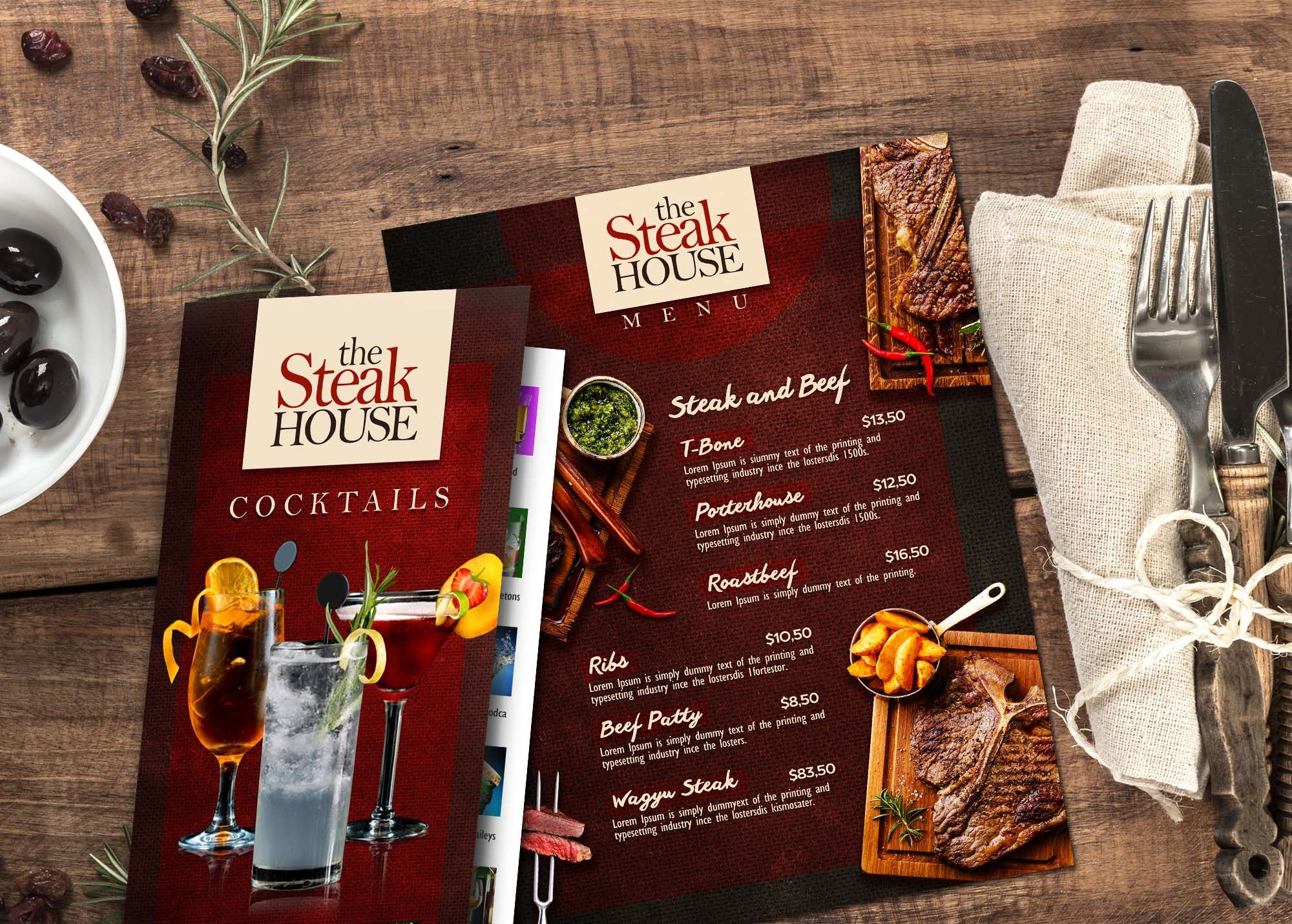 Wholesale Menu Printing | Color FX Web Makes You Shine