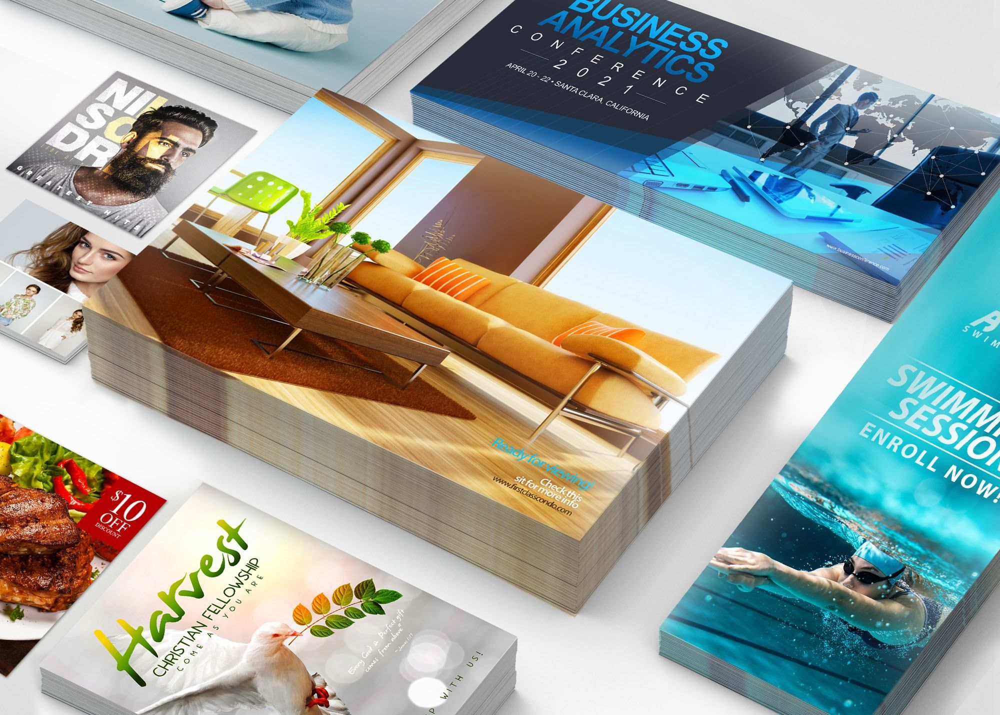 wholesale postcard printing partner with color fx web